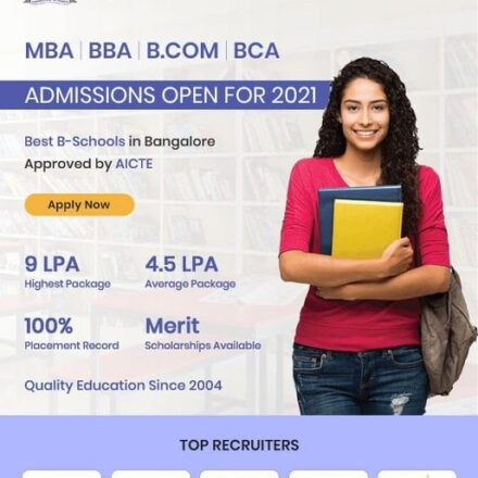 Admissions open for 2021-22